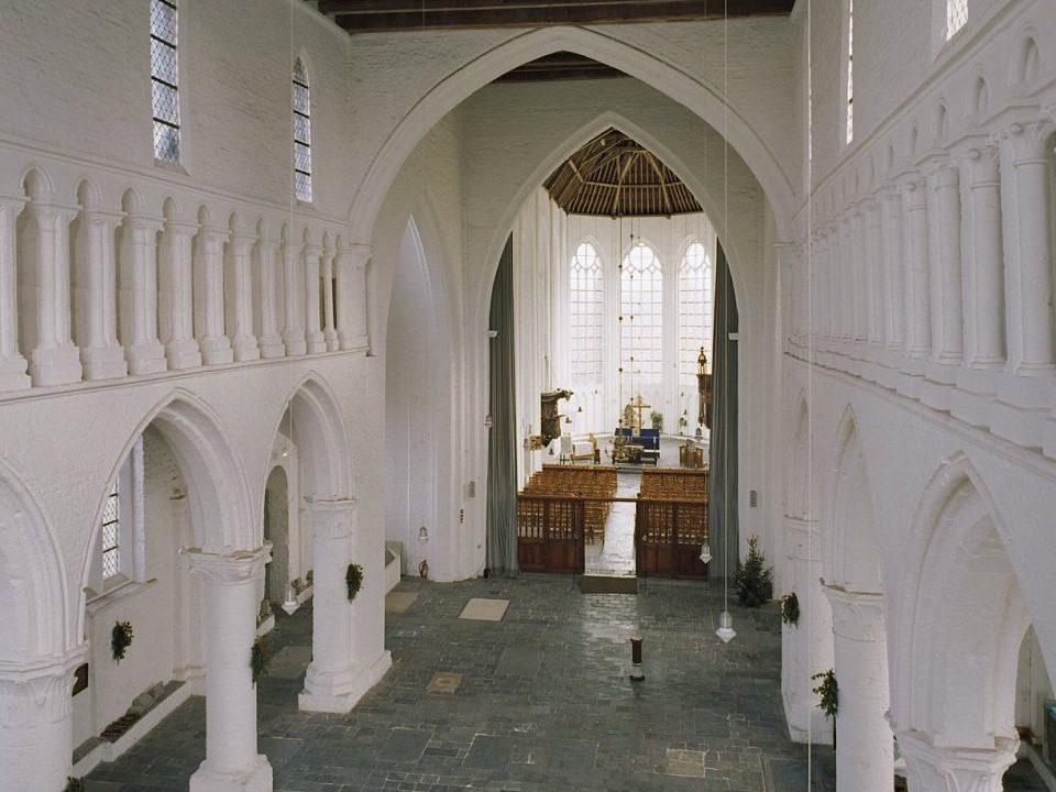 Sint Baafskerk Aardenburg binnen